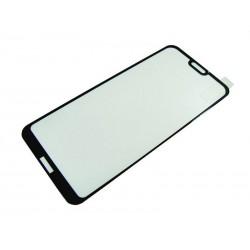 9H SZKŁO Huawei P20 LITE FULL 3D MS Lite EDGE czar