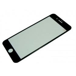 9H SZKŁO iPhone 7+ 8+ FULL 3D czarne SoftFrame
