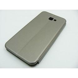 Etui BOOK Elegance Samsung J4+ J4 Plus J415 stalow