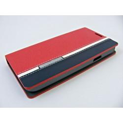 Wallet Mute Sam G800f S5 Mini czerwono-niebieski