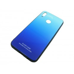 GLASS CASE Huawei P Smart 2019 POT-LX1 niebieski