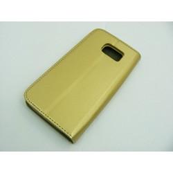 Smart Magnet Sam G925 Galaxy S6 EDGE złoty HQ