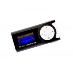 ODTWARZACZ MP3 LCD RADIO CZARNY