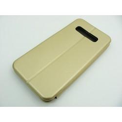 Etui BOOK Elegance Samsung S10 Plus G975 złoty