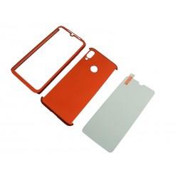 FULL 360 + szkło Xiaomi Redmi Note 7 czerwony