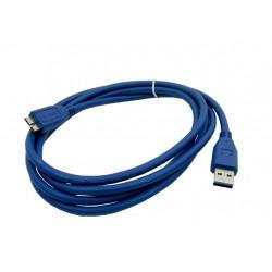 Kabel PC USB 3.0 A NA MICRO B 1,8m KAB11
