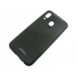 GLASS CASE Samsung A40 A405 czarny