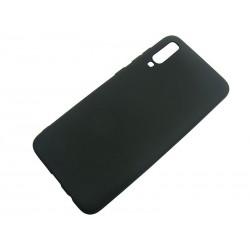 Jelly Case Samsung A70 A705 czarny MATT
