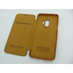 NILLKIN QIN Samsung S9 G960 brązowy