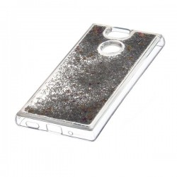 Liquid / Water Case Sony Xperia XA2 H4113 srebrny