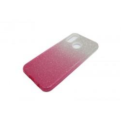 Jelly Case SHINING HQ Huawei P20 Lite srebr-róż
