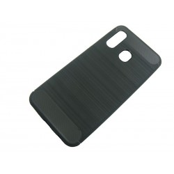 Bumper Carbon LUX Samsung A40 A405 czarny