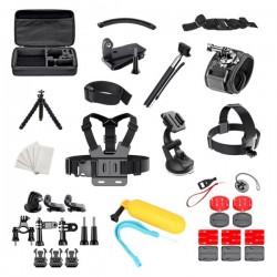 Zestaw 50w1 akcesoria do kamer sportowych GoPro