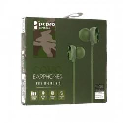 Słuchawki 3,5mm HQ Como M8 khaki / moro