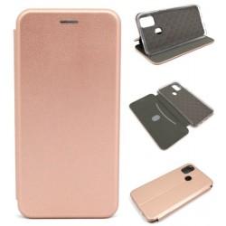 Etui BOOK Elegance do Samsung M21 M215 j. różowy
