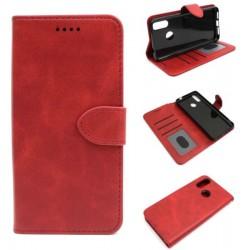 Smart Leather do Cubot J7 5.7 czerwony