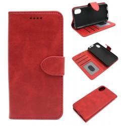 Smart Leather do Cubot J3 czerwony