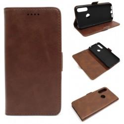 Smart Leather do Alcatel 1S 2020 / 3L 2020 brązowy
