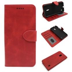 Smart Leather do Nokia 2.2 TA-1188 czerwony