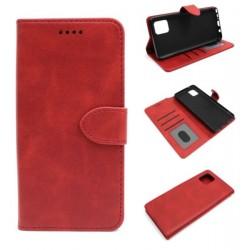 Smart Leather do Samsung Note 10 Lite N770 czerwon