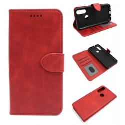 Smart Leather do Oukitel C17 PRO czerwony