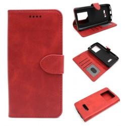 Smart Leather do Oukitel K7 / K7 PRO czerwony