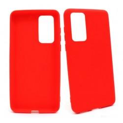 Jelly Case Huawei P40 ANA-N29 czerwony MATT