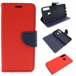 Fancy Diary Huawei P40 Lite E ART-L29 czerwony
