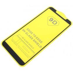 9D SZKŁO do Motorola Moto E6 Play FULL GLUE czarne