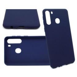 Jelly Case do Samsung A21 A215 granatowyMATT