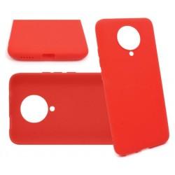 Jelly Case do Xiaomi Poco F2 PRO czerwony MATT