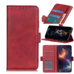 Smart Leather do Motorola One Fusion+ XT2067 czerw
