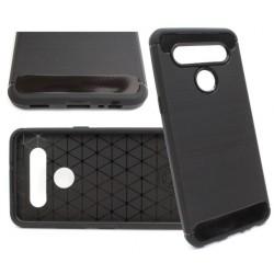 Bumper Carbon LUX do LG K41s / K51s czarny