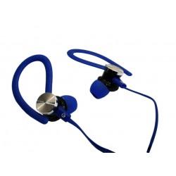 Słuchawki 3,5mm HQ JY-A1 nauszne niebieskie