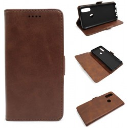 Smart Leather do Oppo A31 CPH2015 brązowy
