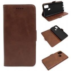 Smart Leather do Samsung M21 M215 / M30s brązowy