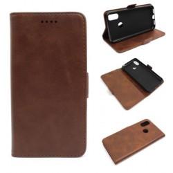 Smart Leather do Cubot X19 brązowy