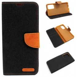 Fancy Diary CANVAS do Samsung A52 / A52 5G czarny