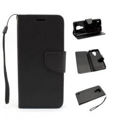 Fancy Diary do Motorola Moto E7 XT2052 czarny