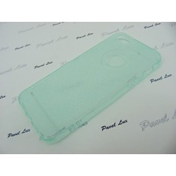 Jelly Case GLITTER iPhone 5 5S 5SE zielony