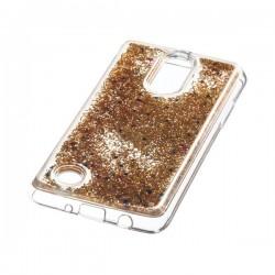 Liquid / Water Case LG K4 2017 M160 złoty