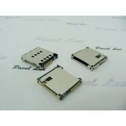 Złącze SIM Sam S5230 Avila i karty pamięci oryg