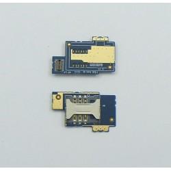 Złącze SIM Son Xperia E C1505 S-SIM na płytce org
