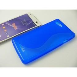 S-CASE SON Xperia E3 D2202 D2203 D2206 niebieski