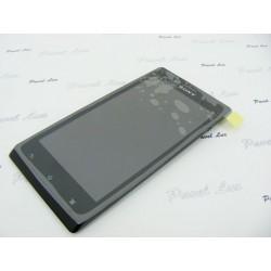 LCD SON ST26i Xperia J + dotyk + ramka BLACK org