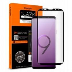 9H SZKŁO Samsung S9+ G965 SPIGEN CF GLAS.TR czarne